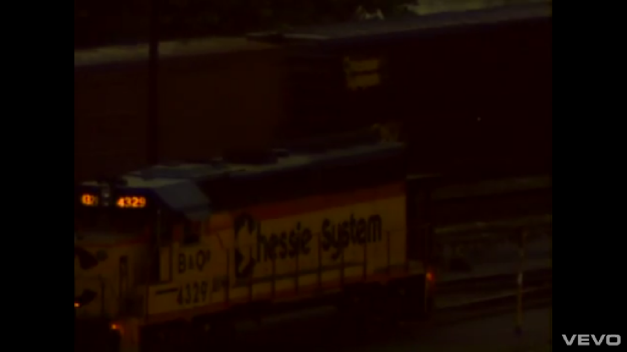 B&O 4329 in the Music Video